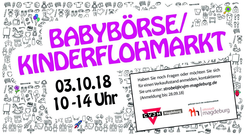 Babybörse & Kinderflohmarkt @ CVJM Magdeburg e.V.