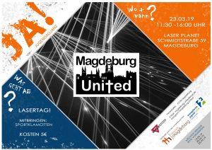 Magdeburg United spielt Lasertag @ Laser Planet Magdeburg